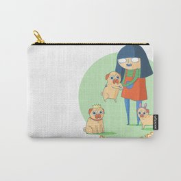 Pugs need hugs Carry-All Pouch