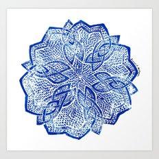 knitwork iii Art Print