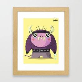 Little Eduardo Framed Art Print