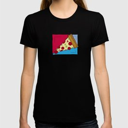 Geometric Pizza T-shirt