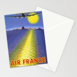 Amerique Du Sud - Vintage Air France Travel Poster Stationery Cards