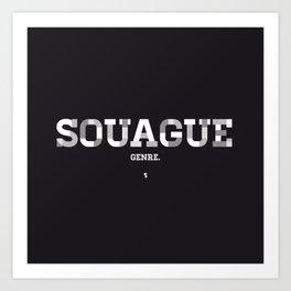 Souague Art Print