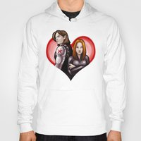 soviet Hoodies featuring Soviet Sweethearts by rnlaing