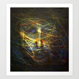 Ghost face 2 Art Print