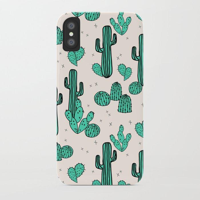 Cactus by Andrea Lauren iPhone Case