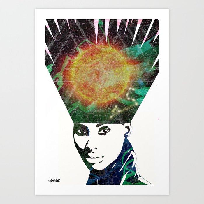 Leo (Zodiac Series 2) Art Print