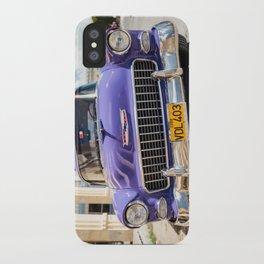 Purple Chevy iPhone Case