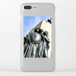 American Strength Clear iPhone Case