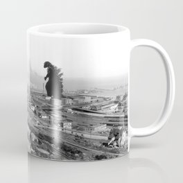 Old time Godzilla vs King Kong Reprised Coffee Mug