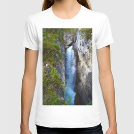 Stanley Waterfall & Beauty Creek, Jasper National Park T-shirt