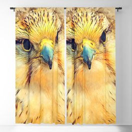 Falcon bird #falcon #bird #animals Blackout Curtain