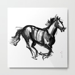 Horse (Far from perfection) Metal Print