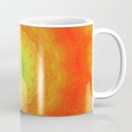 Orange Mandala Coffee Mug