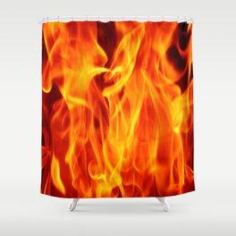 Fire in fire  (A7 B0145) Shower Curtain