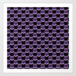 Trippy Cabbage Patch Art Print