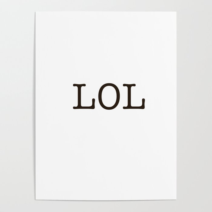 Minimal Laughter (Basic Edition) Poster
