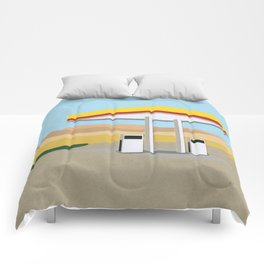 Death Valley Gas Station Comforters