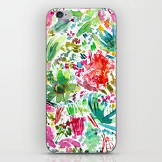 Spring vibes || watercolor iPhone & iPod Skin