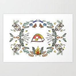 Camp Dutch Art Print