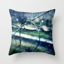 Rusted, busted Princess Throw Pillow