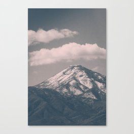 Moody Navada Mountain  Canvas Print
