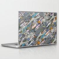 battlestar galactica Laptop & iPad Skins featuring Battlestar by Guy Warley