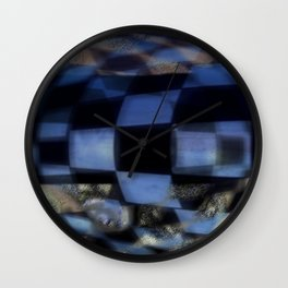 Against form Wall Clock