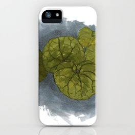 Simple leaves iPhone Case