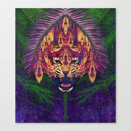 Spirit Animal - The Jaguar Canvas Print