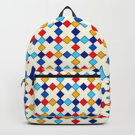 PETITS LOSANGES COLORES Backpack