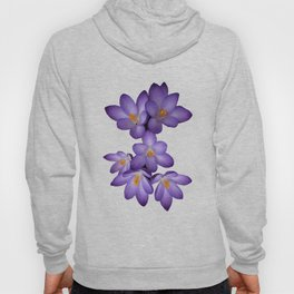 Purple Crocus Hoody