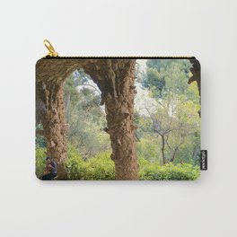 Musician in Park Guell, Barcelona Carry-All Pouch