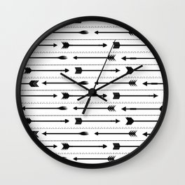 Arrows Wall Clock