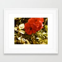 romance Framed Art Prints featuring Romance by Tiffany Scully