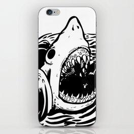 Shark off iPhone Skin