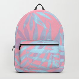 Pink and Blue Tropicana Backpack