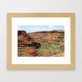Gorge Karijini NP Framed Art Print