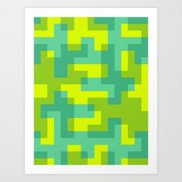 pixel 001 03 Art Print