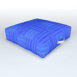 Elour Blue Tile Outdoor Floor Cushion