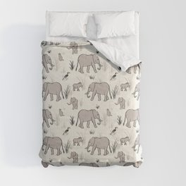 Ellies and Friends Comforters