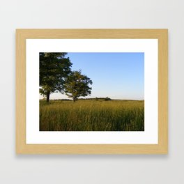 A Warm Summer Day Framed Art Print