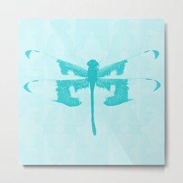 Fly Sky Metal Print