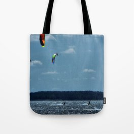 KITE~Party of 3 Tote Bag