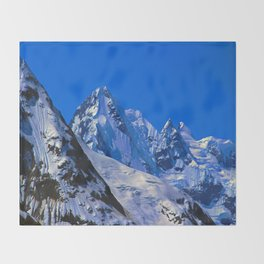 Peaks Throw Blanket
