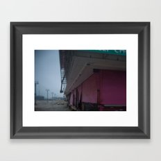Pink Gates, After Sandy Framed Art Print
