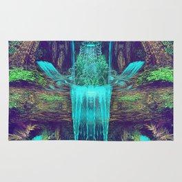 Waters Fall - Fractal - Visionary - Manafold Art Rug