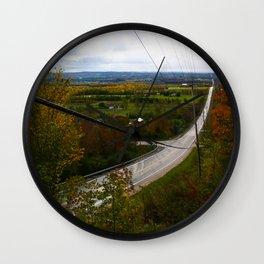 Irish Mountain Autumn Home Decor. Wall Clock