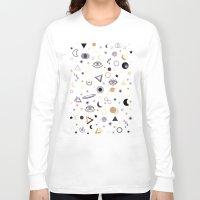 universe Long Sleeve T-shirts featuring Universe by Marta Olga Klara