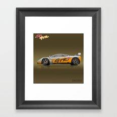 1995 McLaren F1 GTR #01R Prototype #59 Framed Art Print
