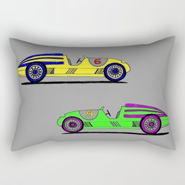 Banana Car Rectangular Pillow